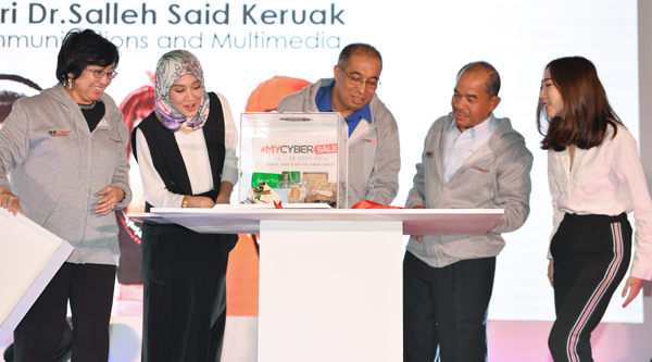 Image result for MyCyberSale Official Launch by YB Datuk Seri Dr. Salleh Said Keruak