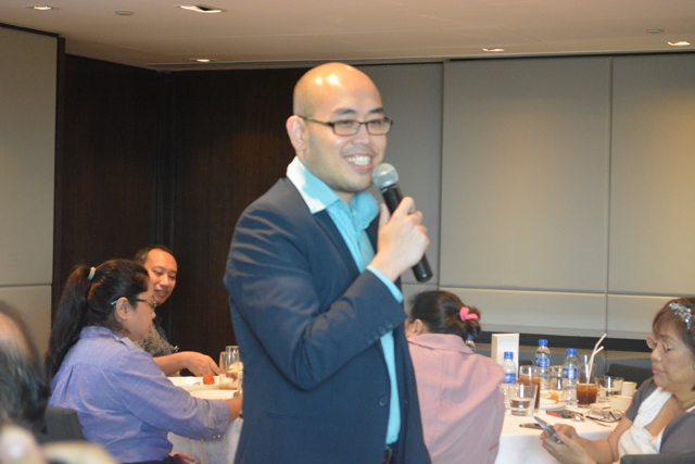 Christian Lim, Office Marketing Business Group lead for Microsoft Philippines, explains the features added on Office 365 E5