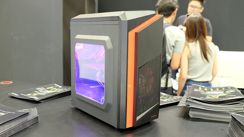 For those looking for an affordable gaming desktop, the Aftershock Zeal may be right up your alley. It is powered by an Intel Core i5-6500 processor, 8GB of DDR4 RAM, and a Zotac GeForce GTX 1060 3GB card. You'll also get a free upgrade to a 120GB SSD and 1TB Toshiba HDD, and a copy of anti-virus software. It is selling at just $1,376, down from $1,475 usually.
