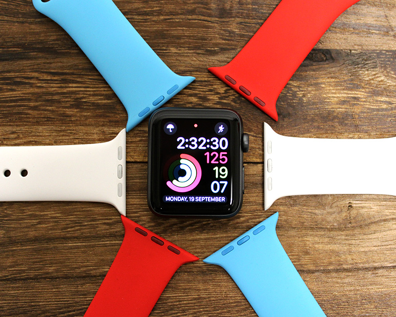 It's so easy to change straps on an Apple Watch.