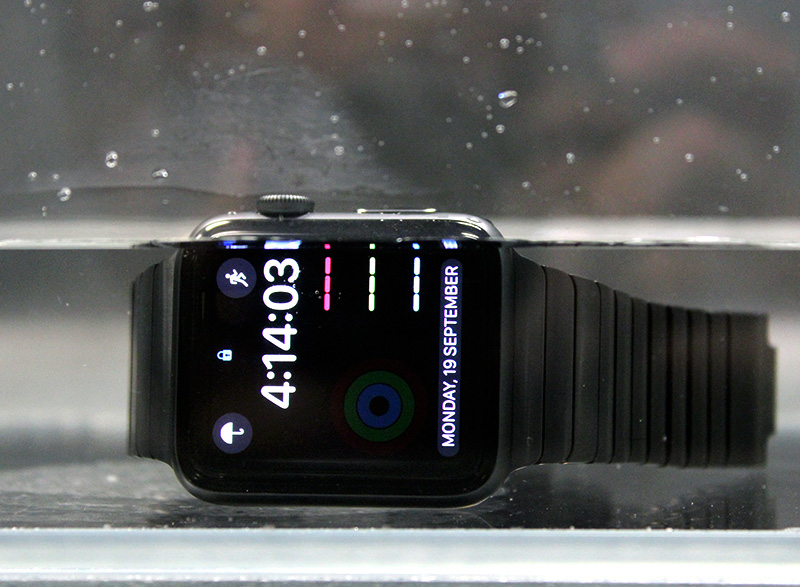 The Apple Watch Series 2 can be submerged in shallow waters, but for snorkeling or scuba diving, you'll need a proper dive watch.