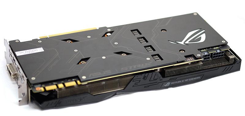 ASUS ROG Strix GeForce GTX 1080 backplate