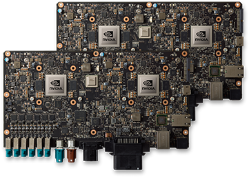 Multiple Drive PX 2 platforms can be configured into one vehicle for truly autonomous driving.