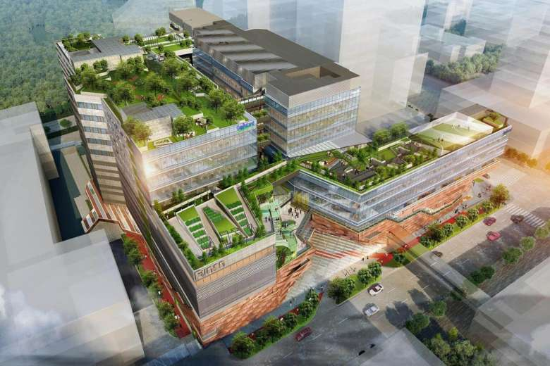 Funan will feature a 4,000 sq ft urban farm, where the public can learn more about the origins of their food and adopt a plot to grow their own produce.PHOTO: CAPITALAND