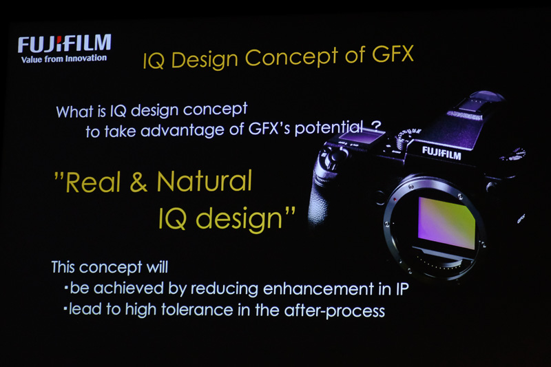 The GFX 50S is built with the aim of providing the highest IQ possible.