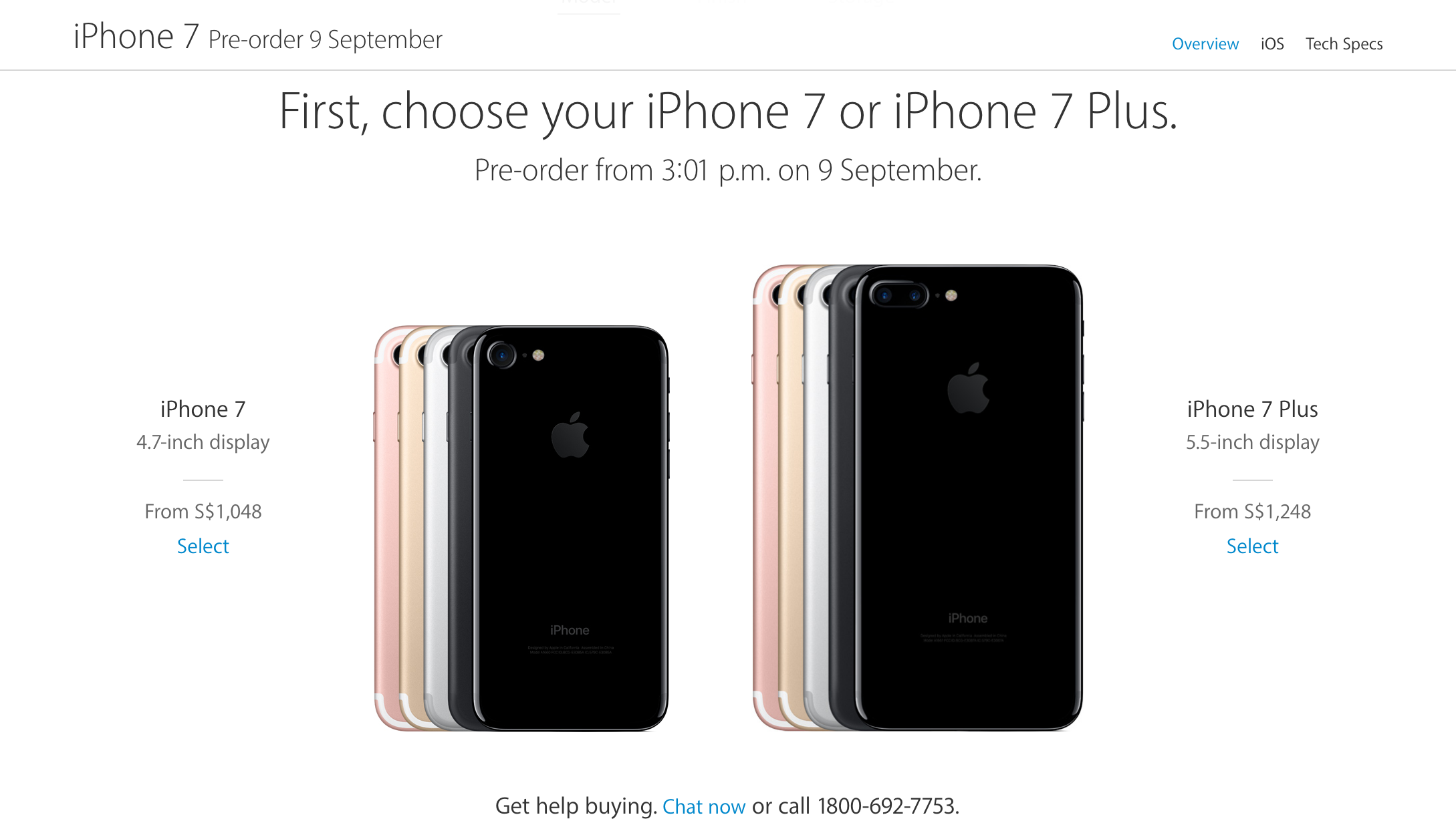 Apple goes official about the iPhone 7 and iPhone 7 Plus