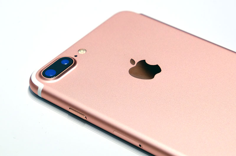 This Is The Rose Gold Version Of IPhone 7 Plus That We Handled At Apples