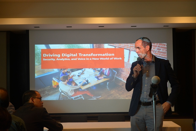Cian O'Neill, Chief Operating & Chief Marketing Officer for Microsoft Philippines, talks about the latest upgrade of Office 365 E5.