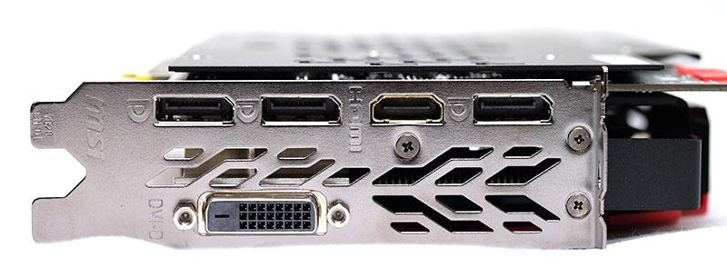 MSI GeForce GTX 1080 Gaming X 8G display connector