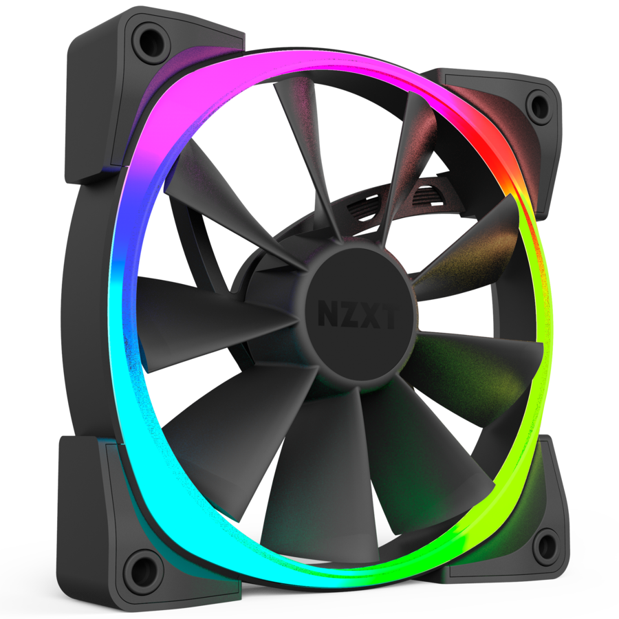 on nzxt cooler how to change color