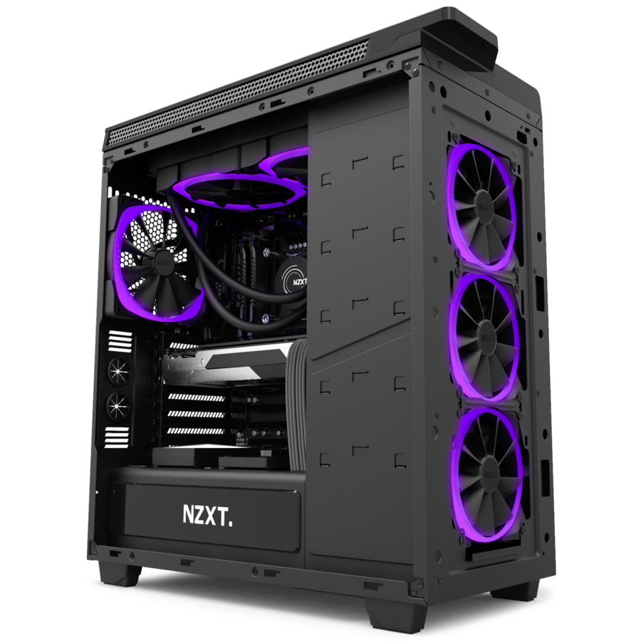 Nzxt S Aer Rgb Case Fans Adds Colors To Your Pc S Casing