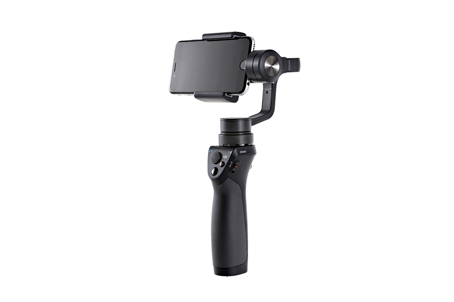 The DJI Osmo Mobile (smartphone not included).
