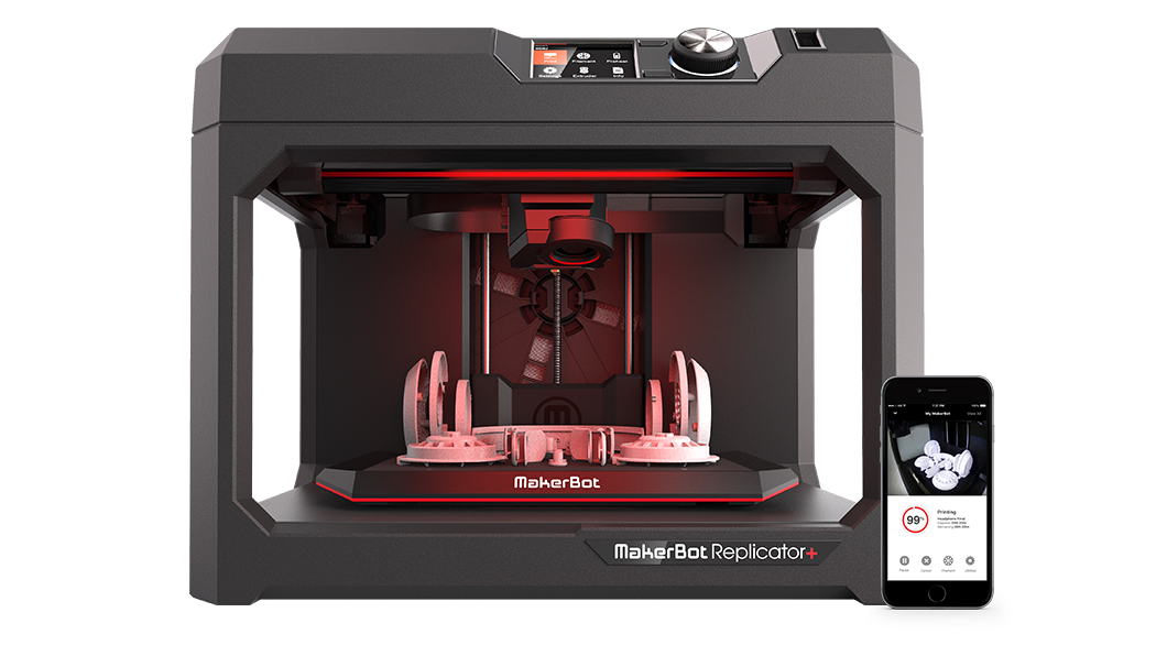 Makerbot Launches Two New 3d Printers For Professionals