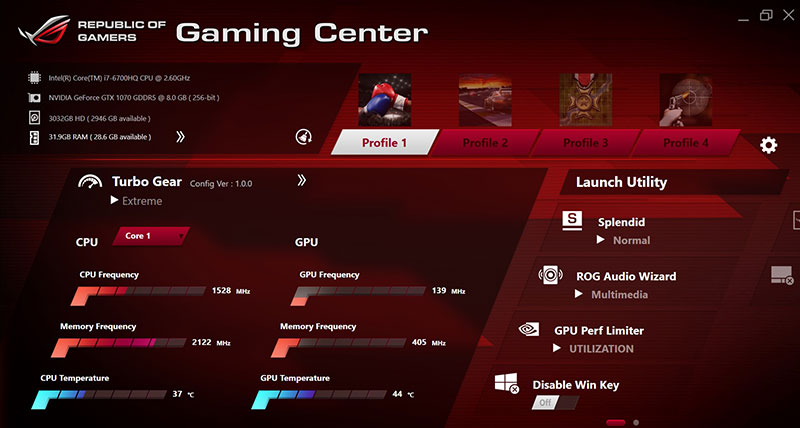 ASUS ROG Gaming Center