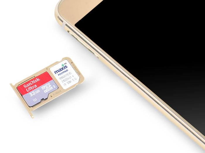 Two SIM cards, or one SIM card and a microSD card. It's your choice, depending what you need.
