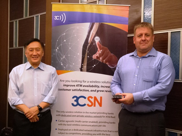Executive Vice President Dr. Ted Marr, Ph.D. and Chief Technology Officer Robert Huddlestone of 3C  Enterprise Wireless.