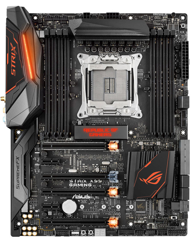 ASUS ROG Strix X99 Gaming: A motherboard with attitude