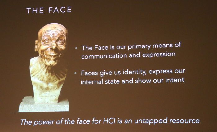 Dr. Sagar's speciality? The functions and emotions of the human face.