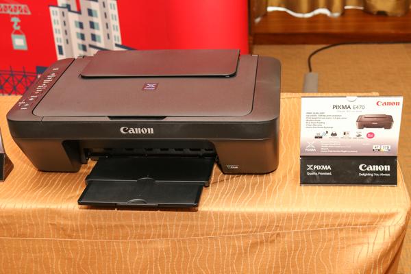 The Canon PIXMA E470