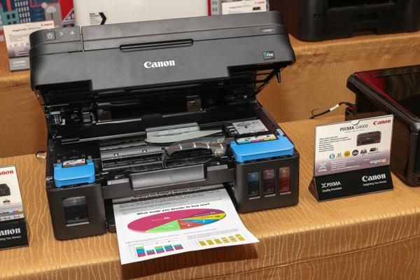 The Canon PIXMA G4000.