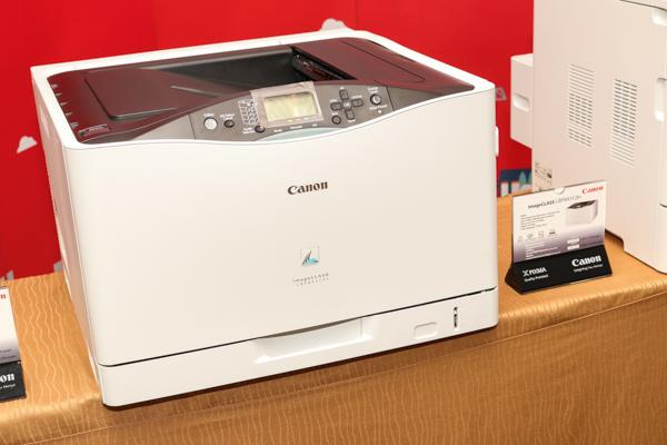 The Canon imageCLASS LBP841Cdn.