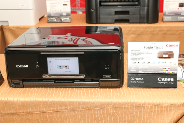 The Canon PIXMA TS8070.