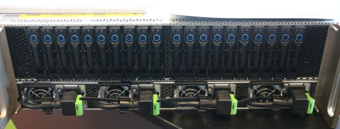 Behold: the front of the DGX-1 supercomputer. This particular unit belongs to CSIRO, Australia's primary science body.