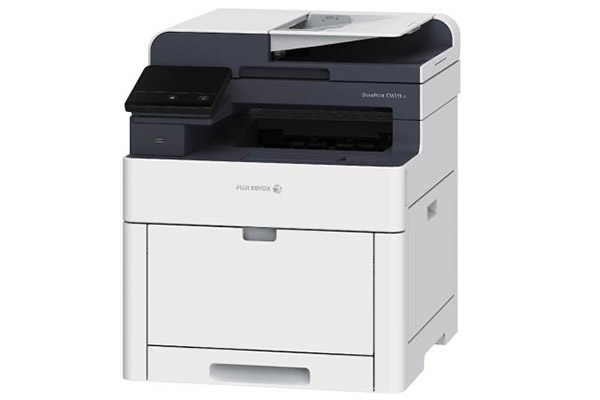 The DocuPrint CM315 z is a 4-in-1 device with print, scan, copy, and fax functions.