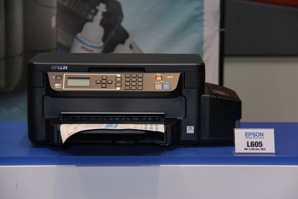 Epson introduces new Replaceable Ink Pack System (RIPS) and L-series