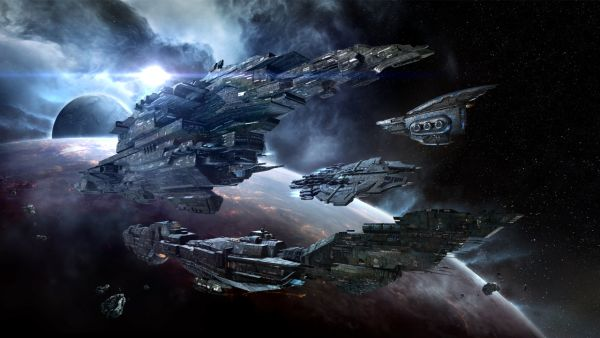 Eve Online will be banning any acts of gambling in-game which may result in seizure of ill gotten in-game items and possible permanent ban of players <br> Image Source: eveonline.com