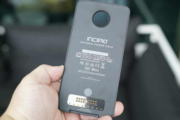 Incipio is just one of three brands that Lenovo has been working with. The other two power packs were designed by Kate Spade New York and TUMI.