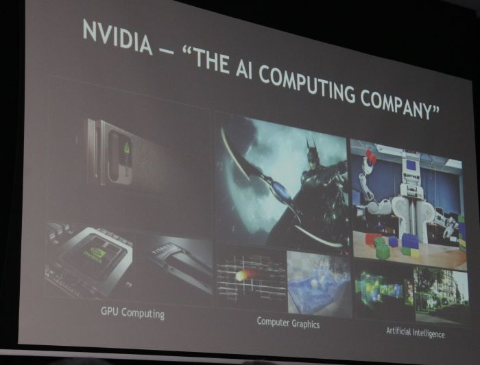 More than gaming: NVIDIA is no longer just known for their GeForce graphics cards.