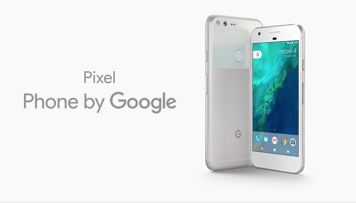 2bc30f4aea1 Google officially announces the Google Pixel smartphone ...