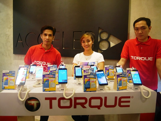 The new Torque EGO series Boost Edition displayed during the launch.