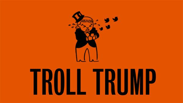 Troll Trump is a site that tracks all of Trump's tweets and lets Clinton's supporters to donate a sum of money to her campaign for presidency. <br> Image Source: Adweek