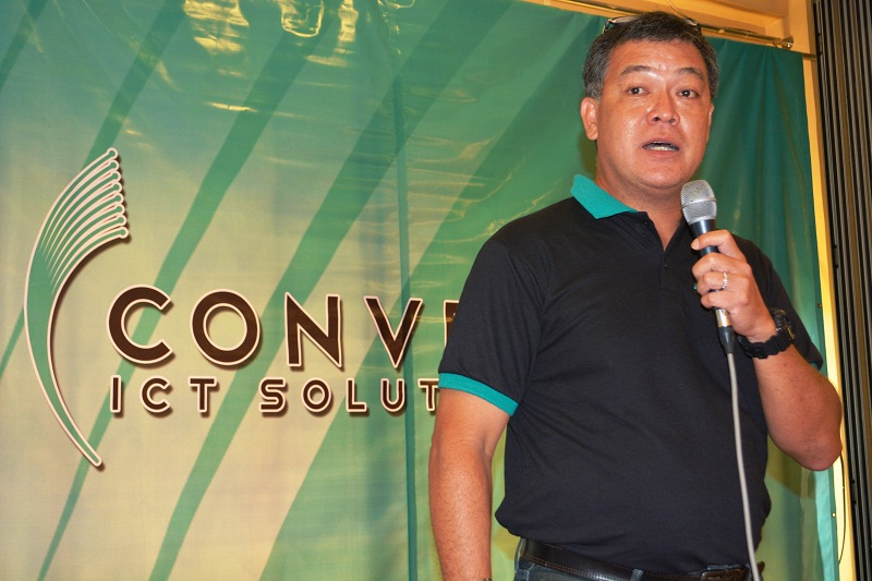 Jesus Romero, COO of Converge ICT.
