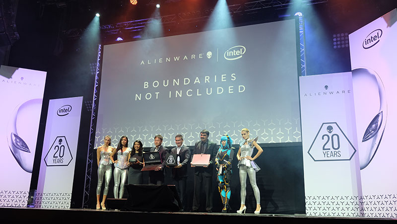 Dell held an event yesterday to commemorate Alienware's 20th year in the high-performance PC business.