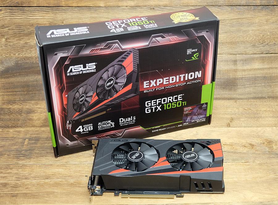 ASUS Expedition GeForce GTX 1050 Ti