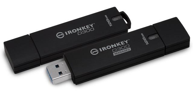 Kingston's new IronKey D300 and IronKey D300 Managed encrypted USB flash drives
