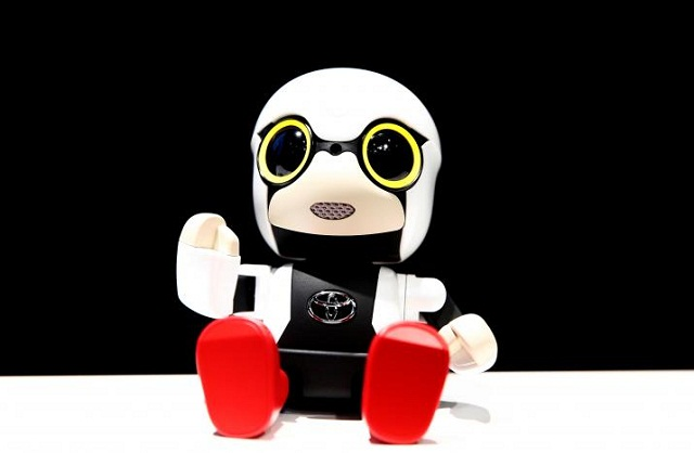 The Kirobo Mini by Toyota. (Image source: Reuters)