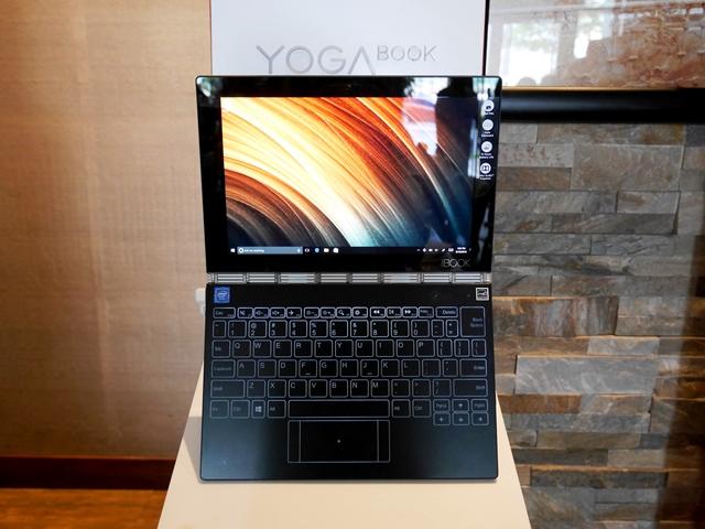 The Lenovo Yoga Book