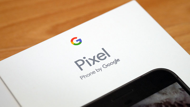 Google Pixel XL box