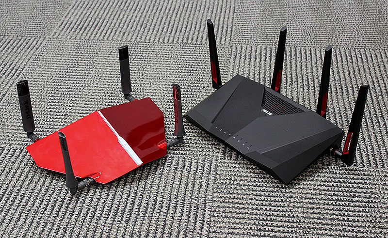 These two routers are pricey but fast. However, if you are prepared to splash the cash, it's better to get a tri-band router.