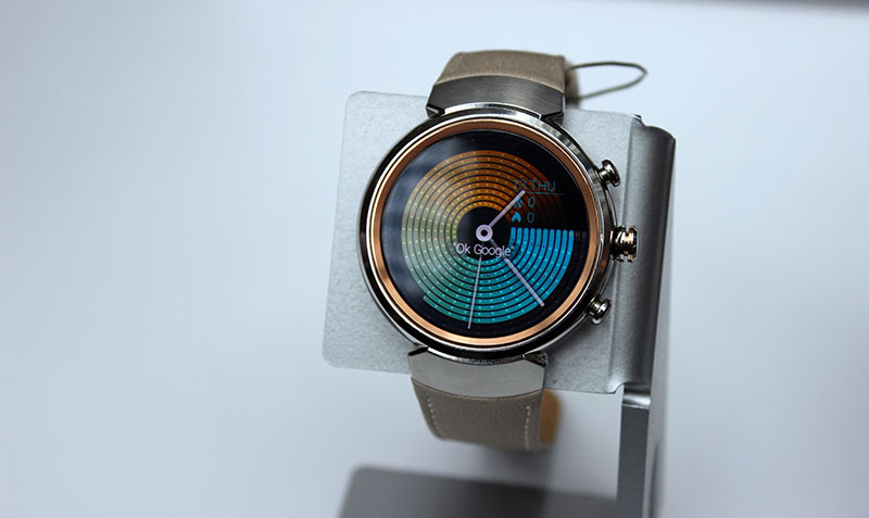 The ZenWatch 3 is ASUS' first smartwatch with a round face.