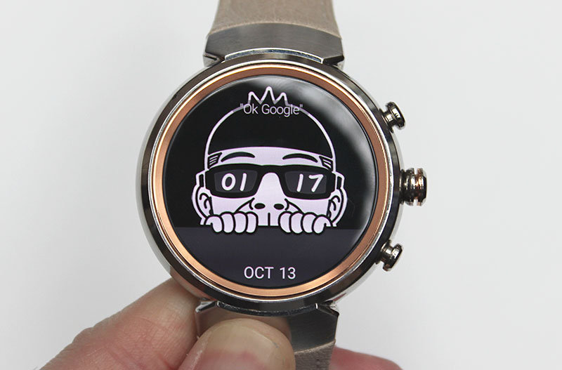 There's lots of watch faces to choose from, but some are quite tacky. Fortunately, some are also quite funky and cute.