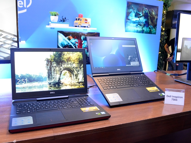 Dell Inspiron 15 7566 gaming laptops.