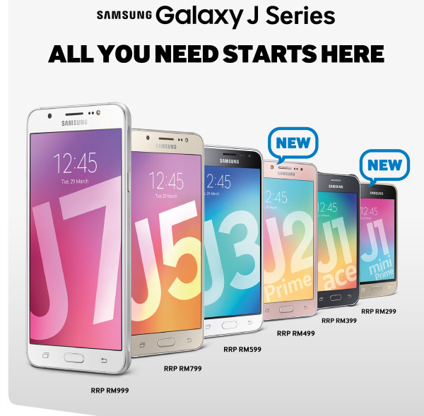 Samsung Updates Their Galaxy J Series With The J2 Prime