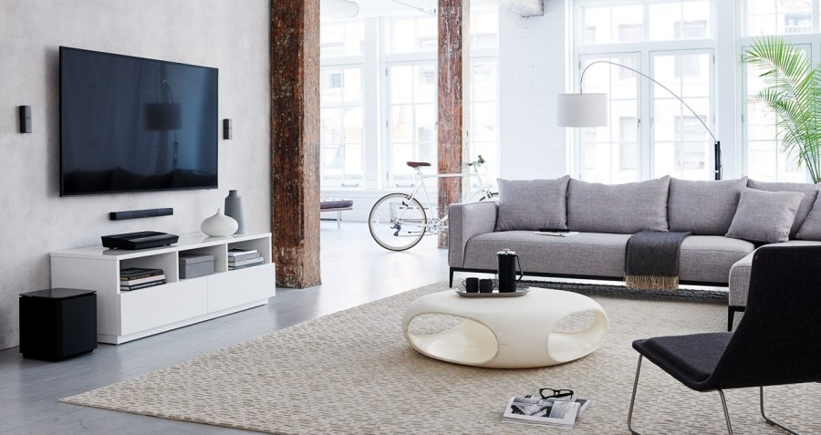 The new Bose Lifestyle 650 entertainment system is so compact and minimalist in nature, you could easily make it 'disappear' from your living room, depending on your furnishing and placement.
