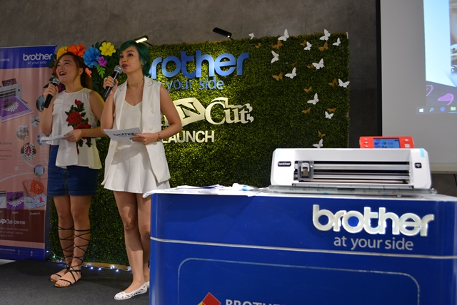 Brother Philippines launched its new ScanNCut CM700.