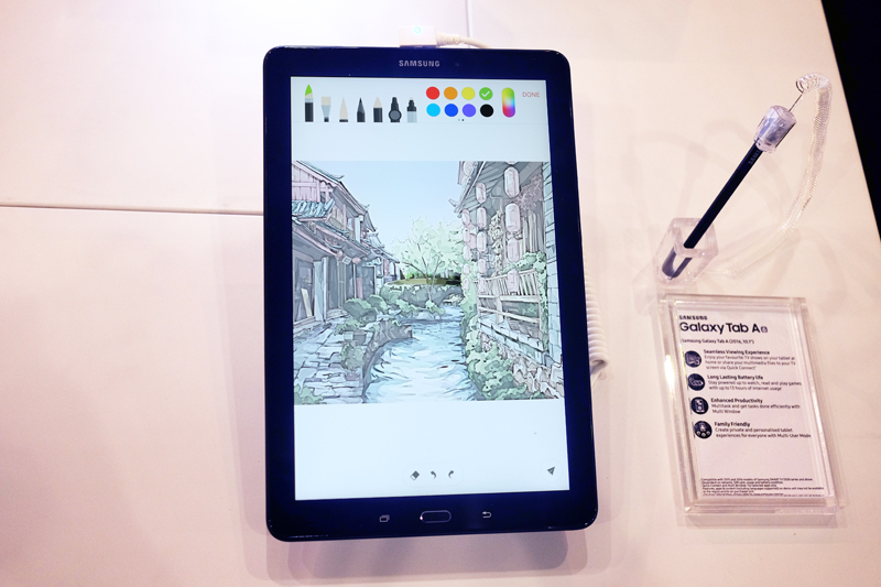 Samsung's Galaxy Tab A6 10.1 with S Pen has a Full HD display and is powered by a Exynos 7870 processor. The handy S Pen stylus offers precise control, which makes it perfect for drawing and other productivity tasks. Pick it up at the IT Show for just $498 and get a free 5,100mAh fast charging battery pack worth S$58.